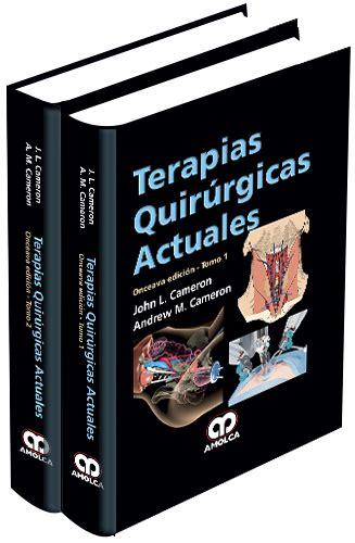 librerias medicas barcelona terapias quirurgicas actuales 2 vols cameron librer 237 a