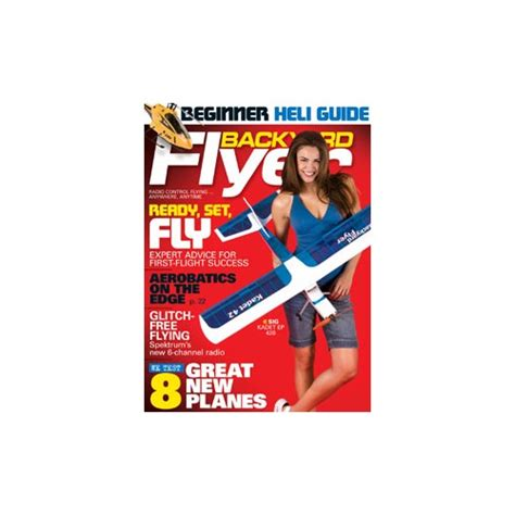 park flyers backyard flyers backyard flyer july 2008 rc planes helis back issues