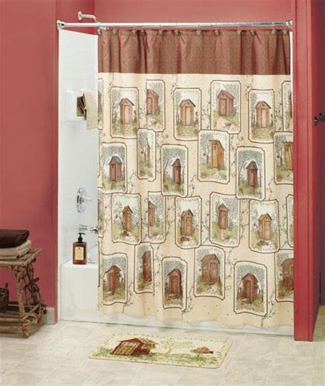 outhouse shower curtain hooks 12 pc linda spivey country outhouse shower curtain hooks