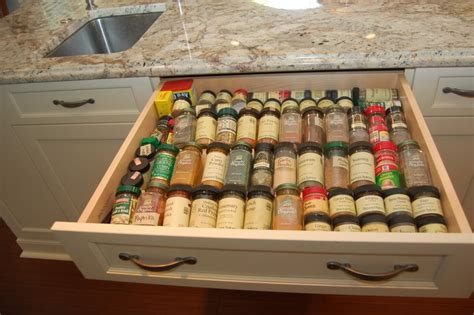 Drawer Spice Storage by Creating An Organized Spice Drawer Honeysuckle