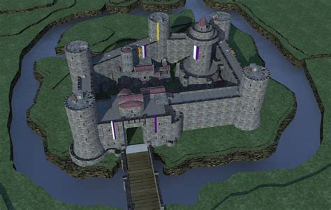 medieval castle norman style