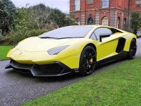 For Sale Lamborghini Aventador 50th Anniv Lamborghini Aventador Up For Sale 95 Octane