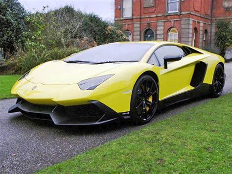 Lamborghini Forsale 50th Anniv Lamborghini Aventador Up For Sale 95 Octane