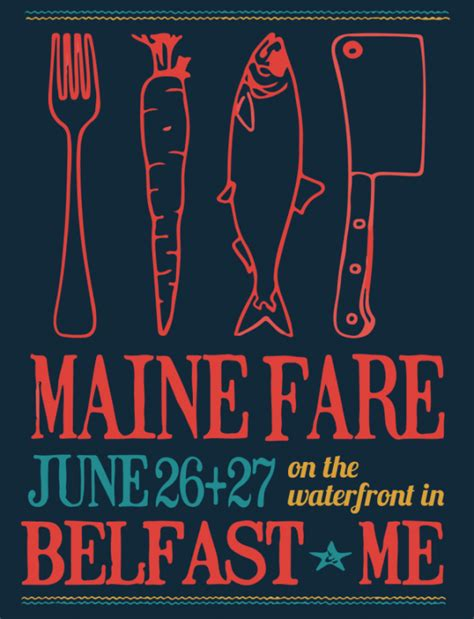 maine fare on the belfast waterfront penbay pilot