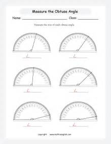 measuring angles using a protractor worksheet abitlikethis