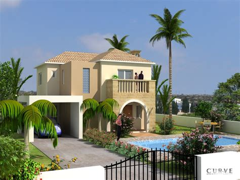 Cyprus Ayianapa Modern Home Designs Modern Desert Homes Modern House Plans Cyprus