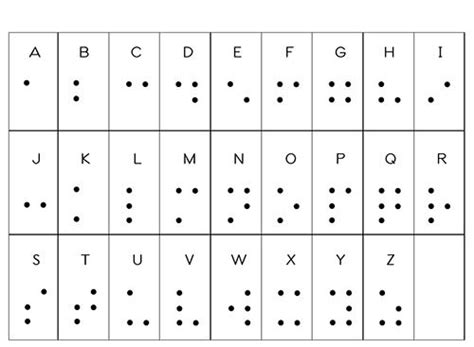 lettere braille tactile learning creating the braille alphabet with