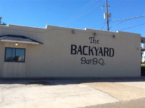 Backyard Bbq In Magnolia Ar Restaurants In Magnolia Arkansas Backyard Bbq Magnolia