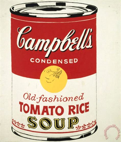 andy warhol soup cans the gallery for gt andy warhol tomato soup poster