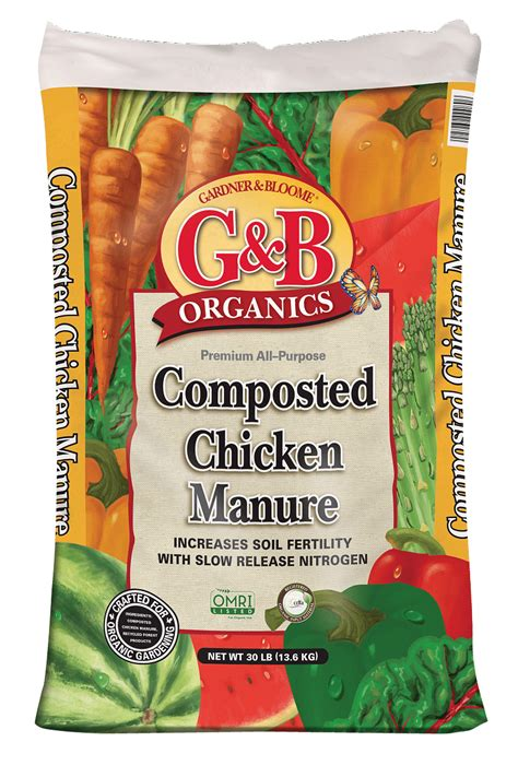 Kellogg Garden Products by Composted Chicken Manure For In Ground Planting And