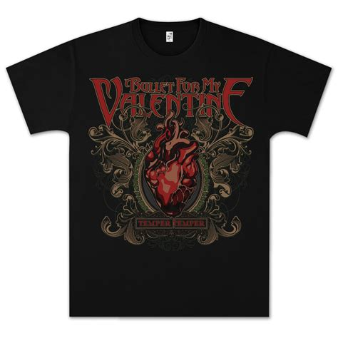T Shirt Bullet My For bullet for my temper temper t shirt shop the