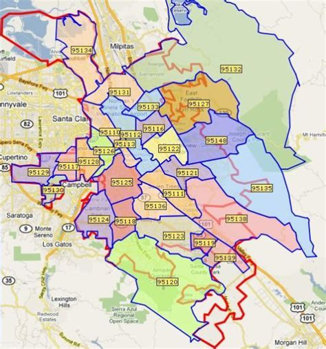 evergreen san jose map real estate market trends in san jose ca zip codes