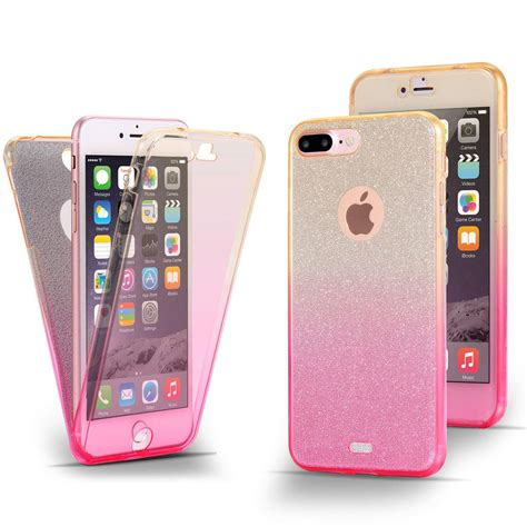 Anti Jelly 360 Iphone 6 6s 7 7 Plus Motif Kuli Jeruk shockproof 360 176 protective clear gel cover for apple iphone 5s 6 6s 7 plus ebay