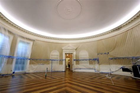 trump oval office renovation white house renovation update what trump s residence