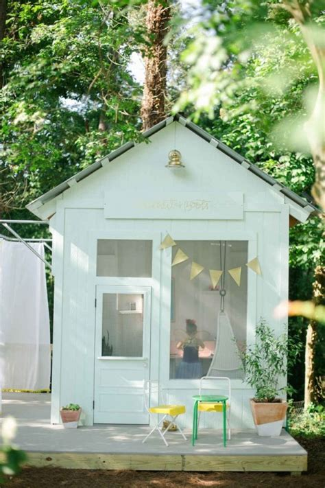Backyard Playhouse Plans by 37 Awesome Outdoor Kids Playhouses That You Ll Want To
