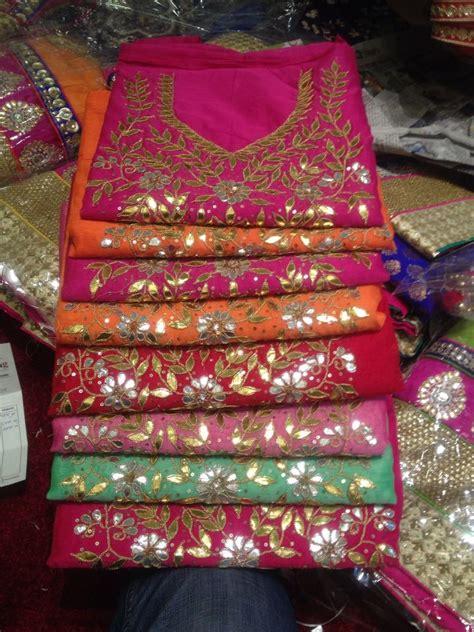 Dress Tradisional India Abu Abu gota chanderi tops by araina fabs mount abu contact ankit 09983401578 araina fabs mount abu