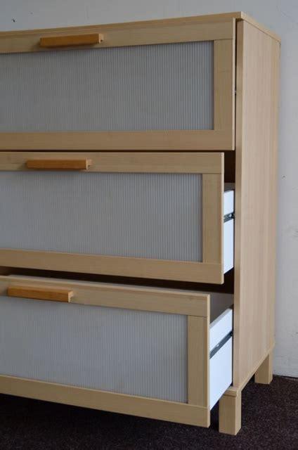 Ikea Schubladen Korpus by Kommode Mit 3 Schubladen Korpus Ahorn Furniert