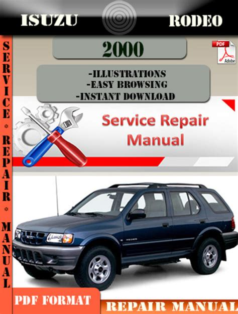 auto repair manual online 1999 isuzu hombre space seat position control service manual 2000 isuzu hombre dispatch workshop manuals isuzu rodeo 2000 repair manual
