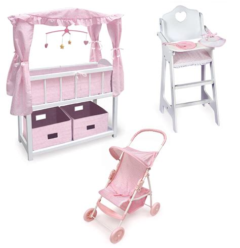 baby doll bed set baby doll crib set baby doll 4 pcs set pique crib
