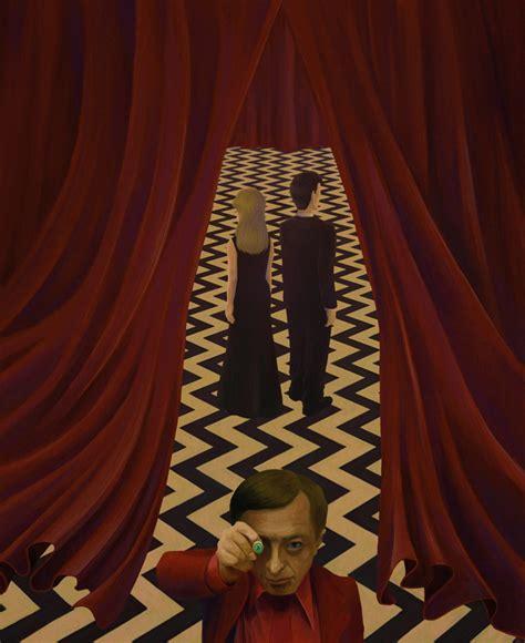 Curtain T Fire Walk With Me Twin Peaks By Okashy On Deviantart