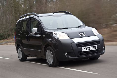 peugeot bipper tepee peugeot bipper tepee first drive review autocar