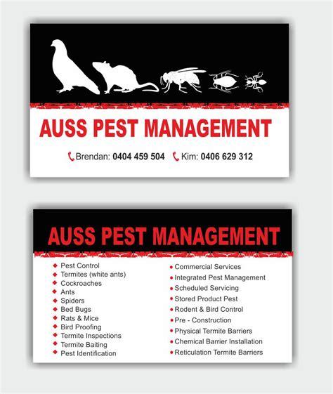 Vermin Business Cards Design