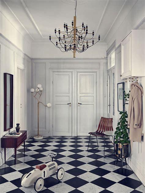 entryway inspiration foyer flooring inspiration black white checkered tile