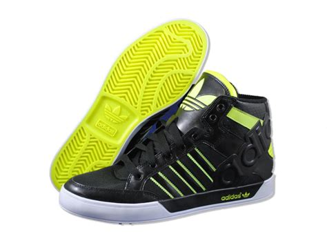basketball shoes for big adidas mens court hi big logo black basketball shoes