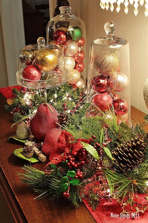 christmas decorating themes 50 stunning christmas table settings style estate