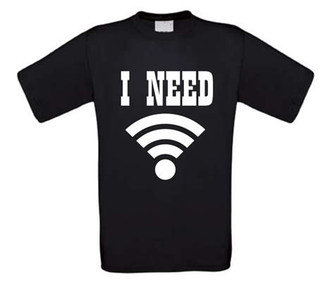 Need Wifi i need free wifi t shirt korte mouw bbwebwinkel nl