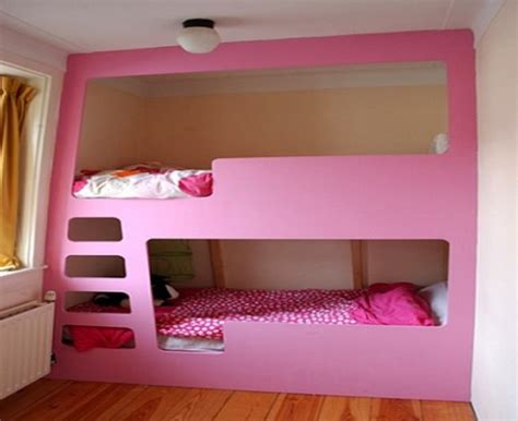 girl bunk beds girls bedroom with bunk beds