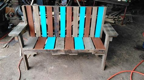 diy pallet bench seat pallet garden bench seat 101 pallets