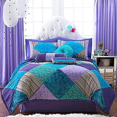 seventeen bedding set seventeen 174 crystal violet comforter set more jcpenney