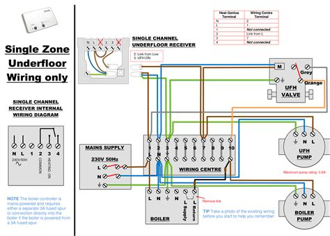 contactor wiring diagram underfloor heating free