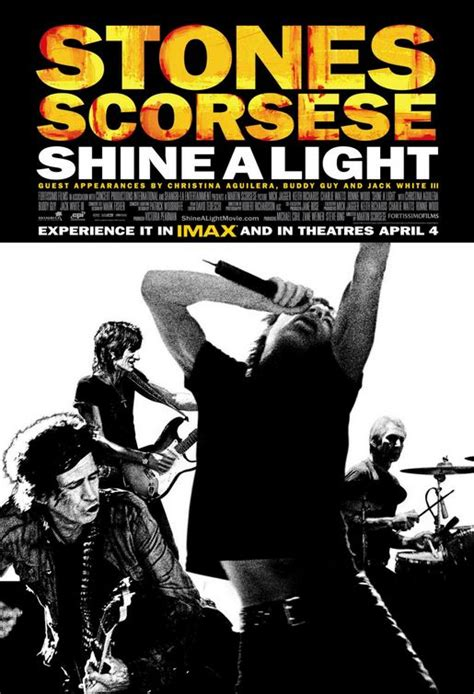 Shine A Light Rolling Stones by Shine A Light Poster Rolling Stones Documentary Ebay