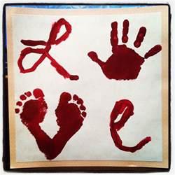 valentine s day handprint crafts suede sofa