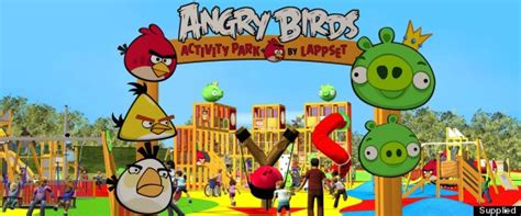 Theme Park Nottingham | angry birds theme park heading to nottingham to be