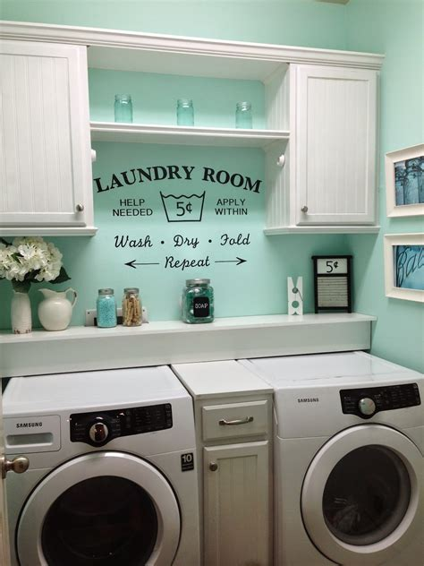 Smart Small Laundry Room Ideas To Use Every Inch Of Your Space How To Decorate Laundry Room