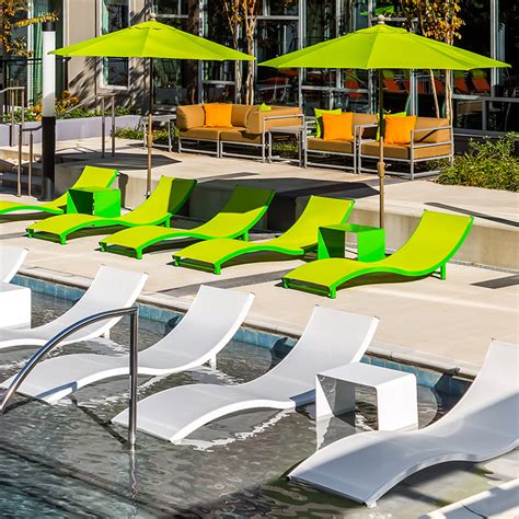 Hotel Pool Lounge Chairs by Aqua Sling Pool Furniture Chaise Lounges Hotel Pool