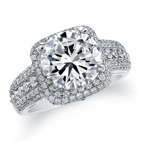 Square Engagement Rings by Engagement Rings Las Vegas Custom Engagement Rings