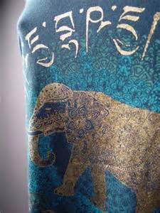 gold tattoo printer ethnic gold elephant exotic henna tattoo print boho tank