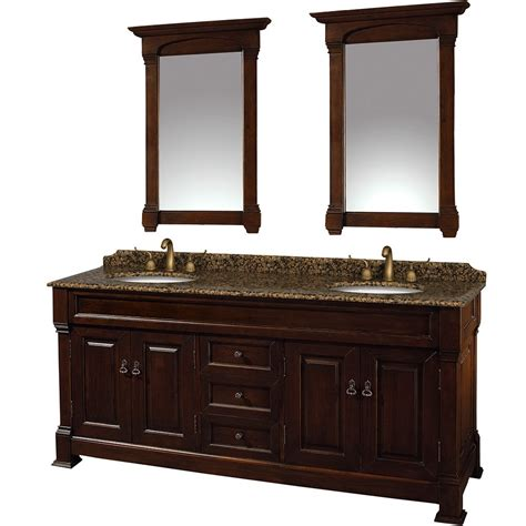 72 bathroom vanities wyndham andover double 72 inch transitional bathroom