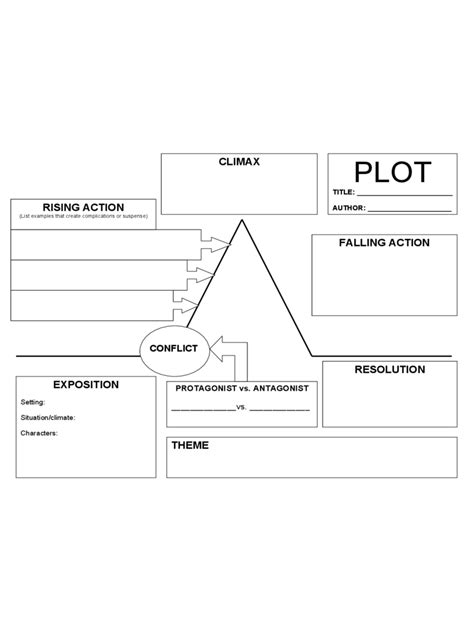 plot diagram exle plot diagram template 4 free templates in pdf word
