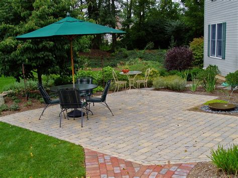paver patio cost garden design inc distinctive landscape design