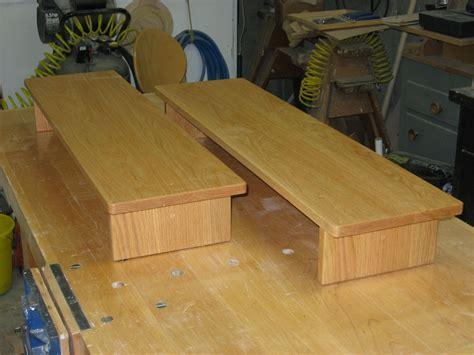 steps for bed handmade oak bed steps by batterman s custom woodworking