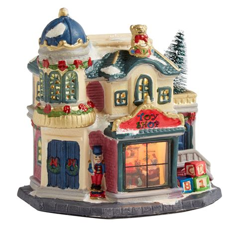 6 75 toy shop miniature lighted home christmas tree