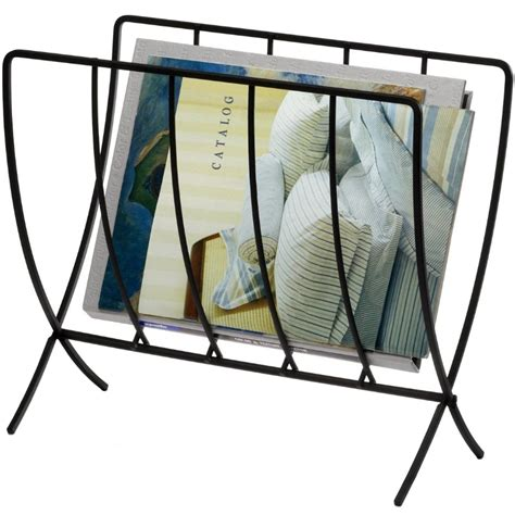 collapsible floor magazine rack in floor magazine racks
