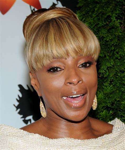 long bobs mary j blige mary j blige updo long straight formal updo hairstyle