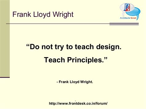 frank lloyd wright philosophy home design