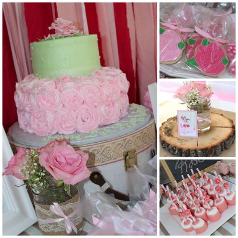 rose themed party supplies 57 best images about layas first birthday on pinterest